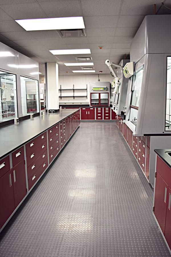 Evonik - Modular Laboratory - Gray & Green Lab Systems