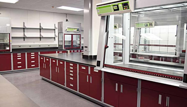 Laboratory Remodeling Construction Services - Casework