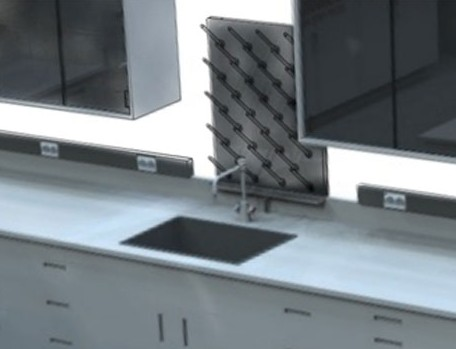 Lab Faucets and Fixtures - Gray & Green Lab Systems